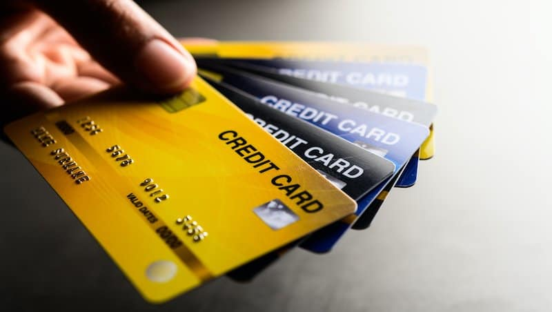Credit cards as a bad debt