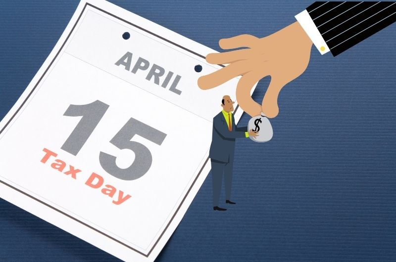 April 15th is the usual tax deadline date for most small businesses.